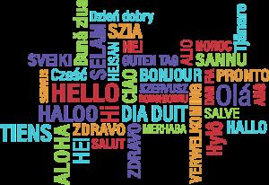 Привет на разных языках мира