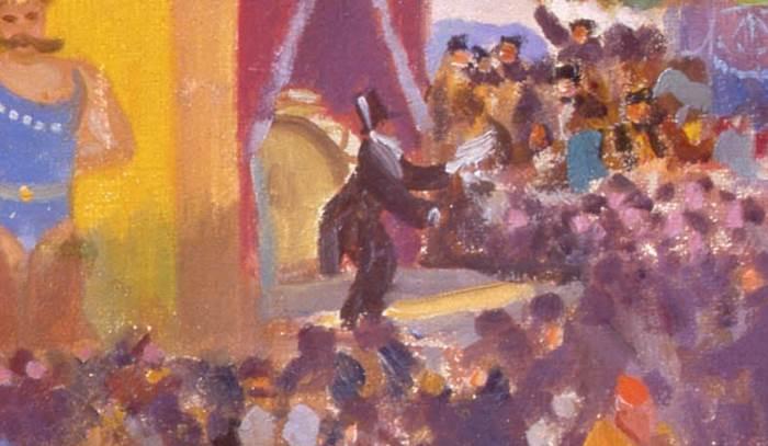 Портрет Ф. И. Шаляпина фрагмент картины Кустодиева