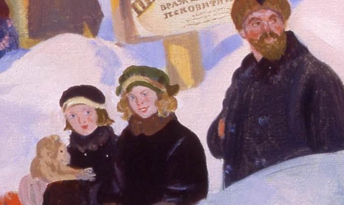 Портрет Шаляпина фрагмент картины