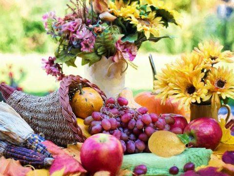 Осенний урожай