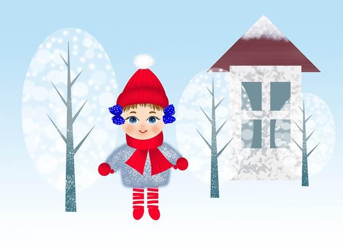 Зима картинка