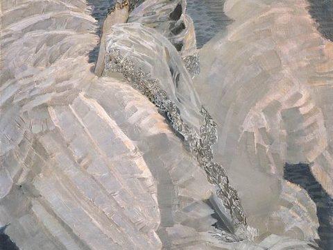 Картина Царевна-Лебедь художник Врубель