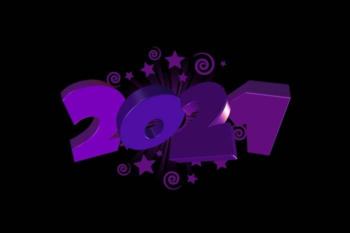 2021 год красивая картинка