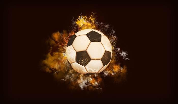 Футбольный мяч красивая картинка