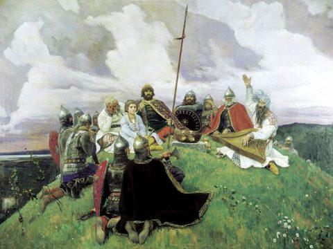 Баян картина Васнецова