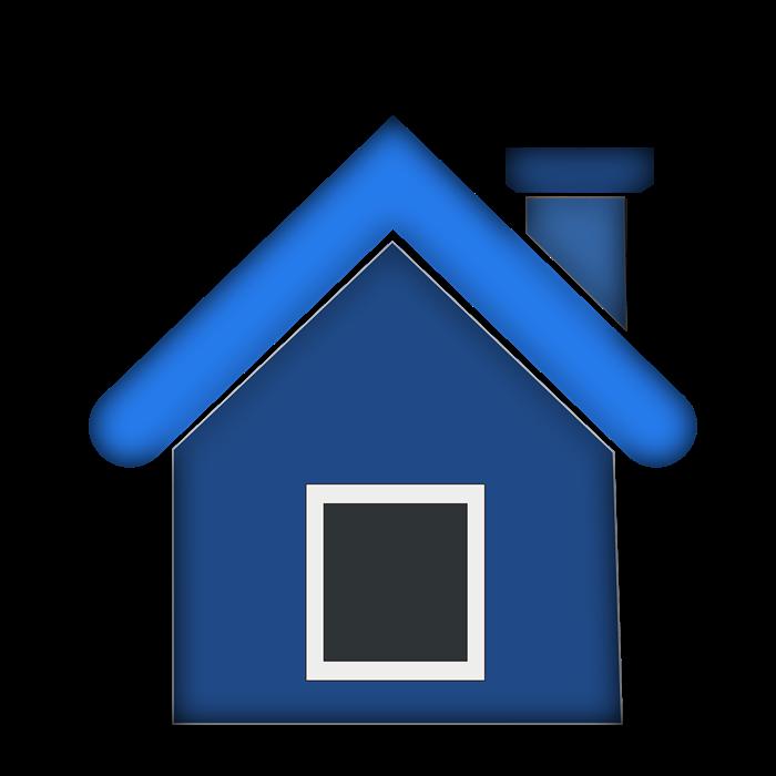 Дом с дымоходом картинка