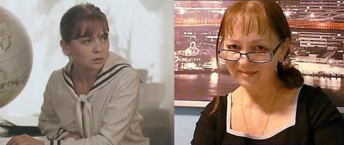 Татьяна Божок (Эмма Марковна, учительница географии)