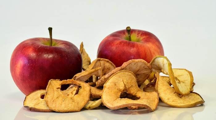 Яблоки сушёные
