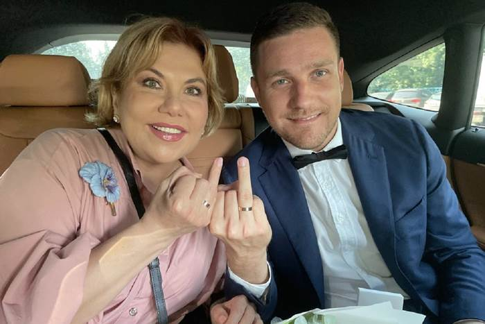 Марина Федункив вышла замуж за итальянца