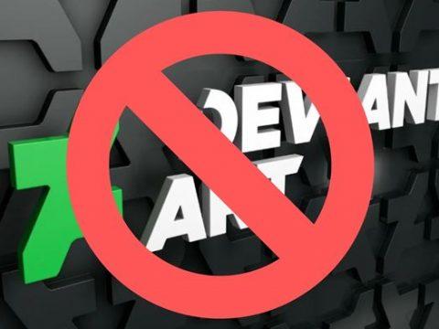 DeviantArt заблокирован