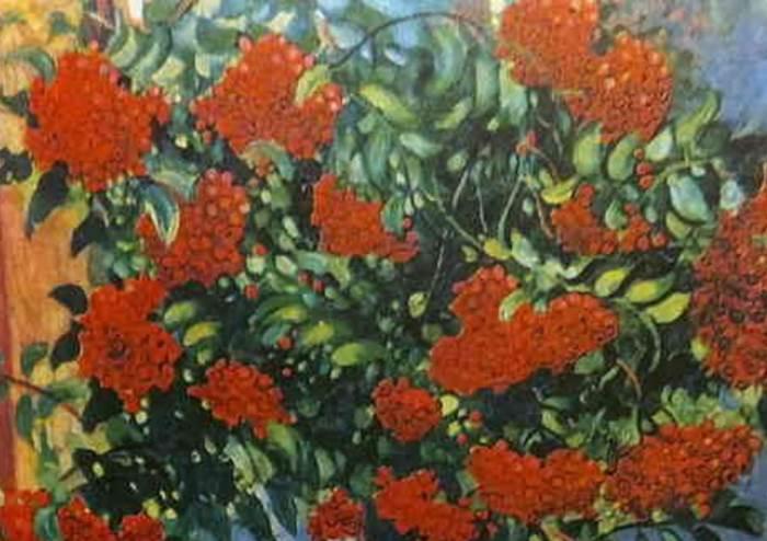 Фрагмент картины Дары осени Герасимов